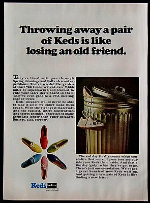 1967 Ladies Keds Tennis Shoes Sneakers Magazine Ad