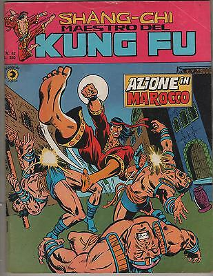 SHANG CHI corno N.42 AZIONE IN MAROCCO shang-chi kung fu iron fist yellow claw