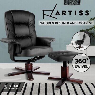 New Executive Premium PU Leather Office Computer Work Chair Padded White 27