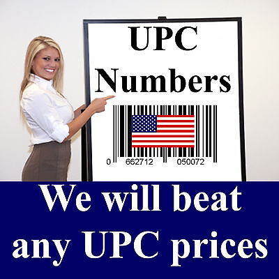 2500 UPC Numbers UPC Barcodes UPC Bar Code UPC Number UPC Barcode Amazon