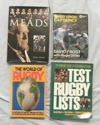 30 Rugby Union Books