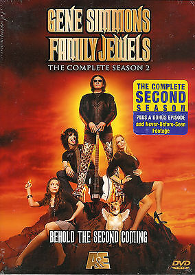 Gene Simmons Family Jewels - The Complete Season 2 Two - New Sealed 3-Disc DVD