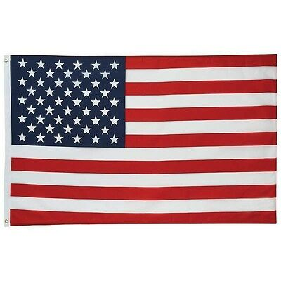 United States of America Flag, USA, American, 3' x 5', Brass Grommets  NEW!!