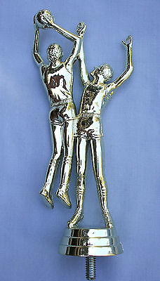 male basketball double trophy parts lot of 26 Freeman 8029-1