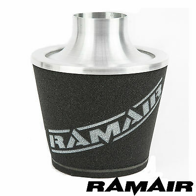 RAMAIR UNIVERSAL 80mm OD NECK LARGE ALUMINIUM INDUCTION INTAKE AIR FILTER