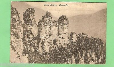 #a.  Postcard - The Three Sisters, Katoomba, Nsw, 1909