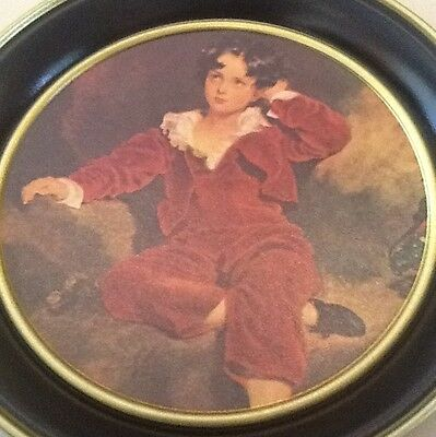 The Red Boy Charming Serving Tray Packed Away Never Used Sweet Piece To Have