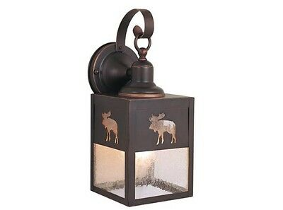 Small Moose Exterior Wall Mount Fixture-Brand New!!