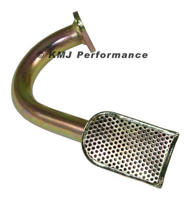SBF Ford 302 Drag Race Oil Pan Pickup Tube Front Sump 7qt - Small Block 289 5.0