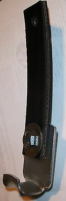"""5"""" Rubber Exhaust Strap Metal Hanger ~ clamps to exhaust bolts to body 1950-90s"""