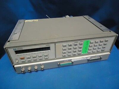 HP 3488A SWITCH / CONTROL UNIT  w/ (3) 44470A & (2) UNKNOWN