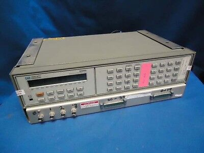 HP 3488A  SWITCH / CONTROL UNIT  w/ (1) 44470A RELAY ULTIPLEXERS & 4 UNKNOWWN