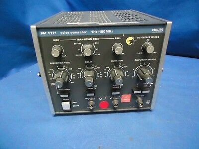 Philips Pm5771 Audio Pulse Generator