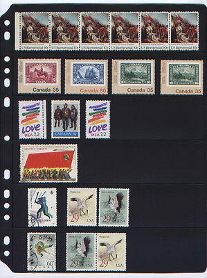ANCHOR 100 New Stock Pages 6 S ( 6-rows) Black stock sheets- double sided...