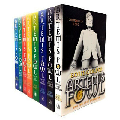Eoin Colfer Artemis Fowl Collection 8 Books Gift Set, the eternity code, time pa