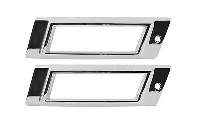 US-Made 1968 Impala Caprice BelAir Rear Marker Bezel Pair New TrimParts 68