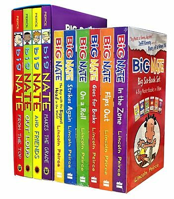 Big Nate Series Collection By Lincoln Peirce 10 Books Box Set Paperback NEW