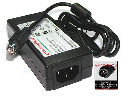 12V 5A (60W) 4 Pin power supply for Television and TVs, come with power lead