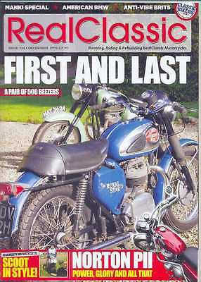 REAL CLASSIC No.104 / December 2012 (NEW) *Post included to UK/Europe/USA