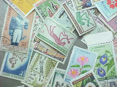 35 Different Dahomey Stamp Collection - Lot
