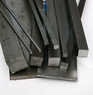 Bright Mild Steel Square Bar 30mm x 250mm EN1A