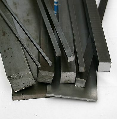 Bright Mild Steel Square Bar 25mm x 125mm EN1A