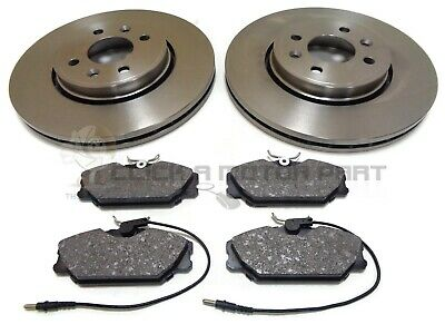 Renault Scenic RX4 1.9 dCi MPV RX4 101bhp Rear Brake Pads Discs 265mm Solid
