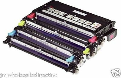 Xerox Phaser 6180MFP//N 8160 8160MFP 4-Color Refill Kit with Hole-Making Tool