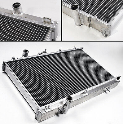 Mitsubishi Lancer Evo 4 5 6 Iv V Vi 96-01 High Flow Aluminium Race Radiator Rad