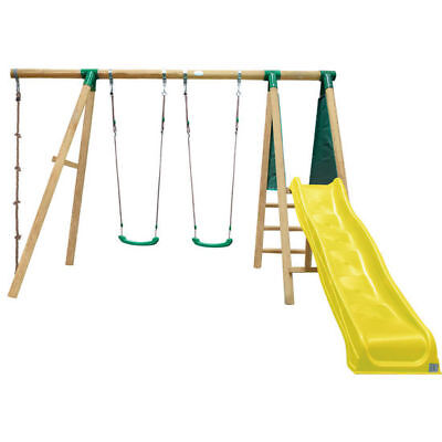 Lifespan New Outdoor Kids Toy Slide Swing Set Wooden Monash Play Centre