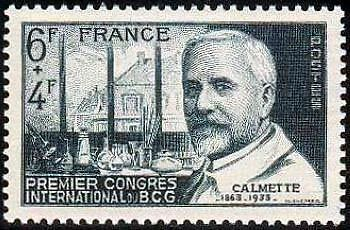 "France Timbre Stamp N°814 ""Congres International Du B.c.g."" Neuf Xx Ttb"