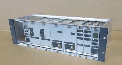 """Arcodan 8 x Modules & Chassis For Mount In 19"""" Rack Pilot Generator Video Switch"""