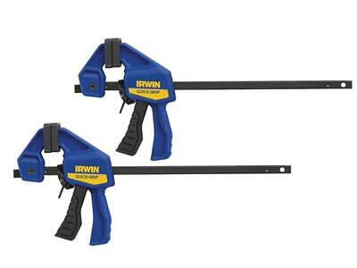 """2 x IRWIN MICRO Quick Grip 115mm 4-1/2"""" Trigger/G/Speed Clamps, Hobby/Jewellery"""