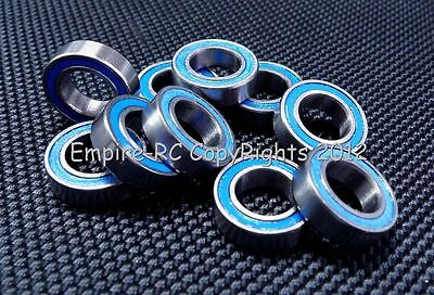 (10 PCS) MR148-2RS (8x14x4 mm) Rubber Sealed PRECISION Ball Bearing (BLUE)