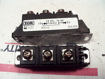 International Rectifier, IRKT91/08 800V 95A Dual Thyristor/SCR Module Doubler
