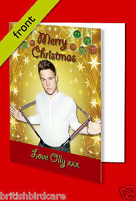 OLLY MURS Autograph Christmas Card Reproduction Print INCLUDES ENVELOPE A5 Size