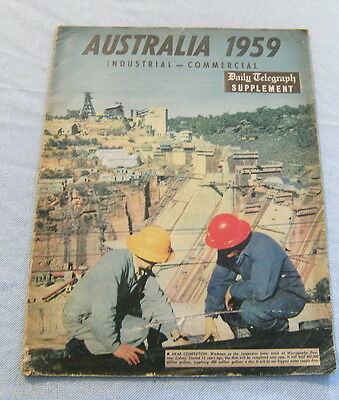 Australia 1959 - An Overview Of Industrial & Commercial Development