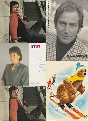 TV STARTS ENTERTAINEMENT Mostly French 32 Postcards pre-80