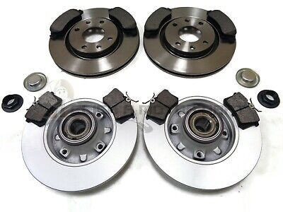 30mm 2006-2011 LUCAS SYSTEM CITROEN C4 REAR BRAKE DISCS AND PADS C//W BEARINGS