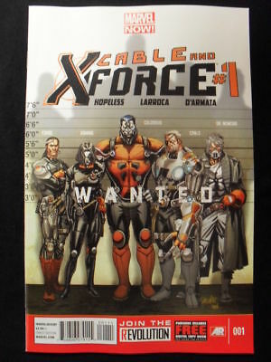 Cable And X-Force #1 (Marvel Now!) Hopeless & Larroca!