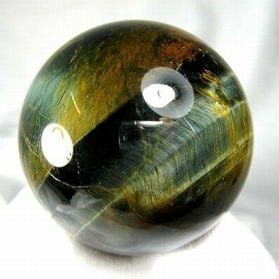 51mm Natural Gold & Blue Tiger Eye Crystal Sphere/Ball-tes55ie0105