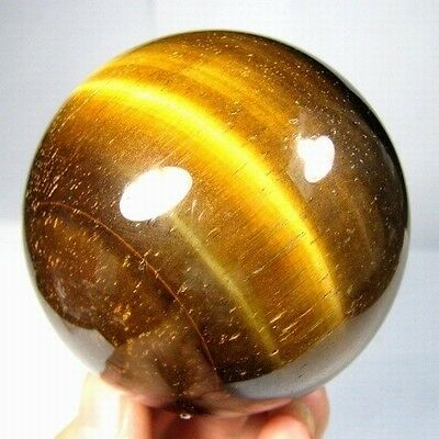 63mm Natural Gold Tiger Eye Crystal Sphere/Ball-tes63ie0188