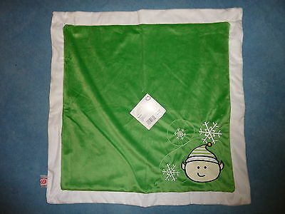 CUTE  BLANKET FOR CAT / SMALL DOG, GREEN with ELF design by Hagen, 60x60cm