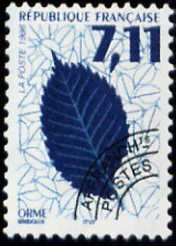 """FRANCE PREOBLITERE TIMBRE STAMP N°239 """"FEUILLES D'ARBRES, ORME"""" NEUF xx TTB"""
