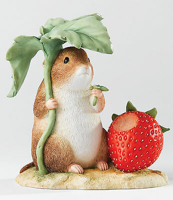 Beatrix Potter Figurine A23355 Timmy Willie with Strawberry NEW  16124