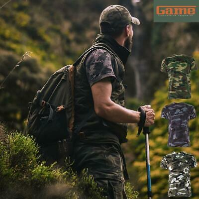 GAME Camouflage Camo T Shirt Army / Military / Hunting / Fishing