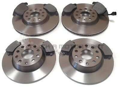 VW TOURAN 1.6 2.0 1.9 TDI 2003-2010 FRONT 312mm & REAR 286mm BRAKE DISCS & PADS