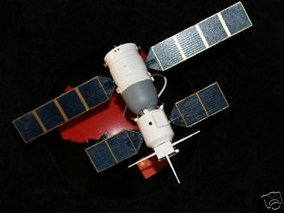 Shenzhou-5  Russia Space Spacecraft Mahogany Kiln Wood Model Small New