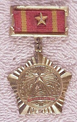 NVA or VC badge: Resistance Medal, 3rd Class