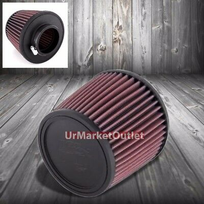Automotive Filters K&N 2.50 64 mm Universal Rubber Cone Centered Round Tapered Air Filter RC-9630